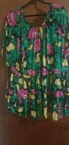 Asos curve floral shirt